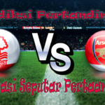 PREDIKSI PERTANDINGAN NOTTINGHAM VS ARSENAL 21 SEPTEMBER 2016