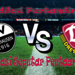 Perkiraan Sandhausen vs Dynamo Dresden 30 September 2016