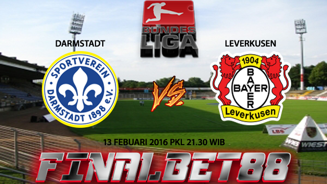Prediksi Darmstadt vs Leverkusen 13 Febuari 2016