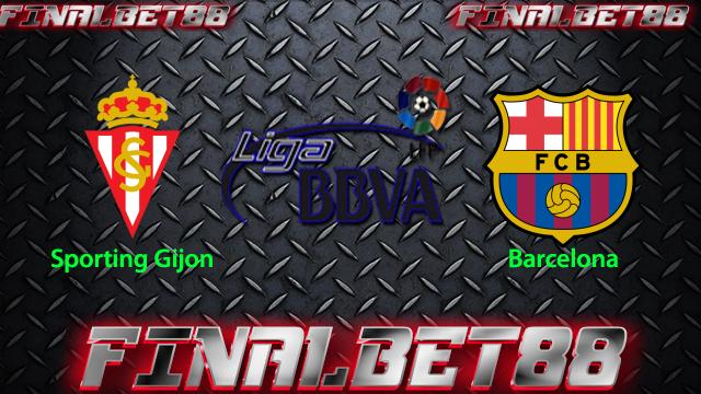 Prediksi Sporting Gijon vs Barcelona 18 Febuari 2016